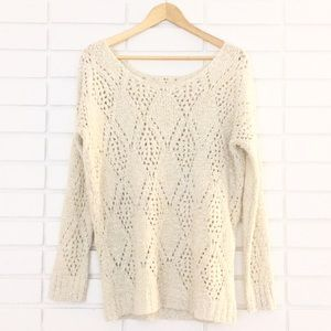 Urban Outfitters [Pins & Needle] Ivory Sweater